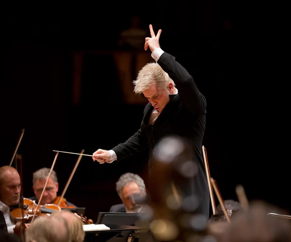 Dan Ettinger - Chefdirigent der Stuttgarter-Philharmoniker
